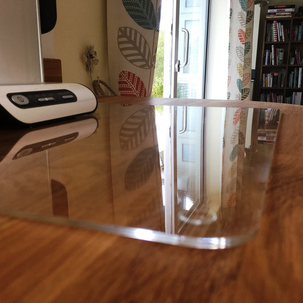 Square Worktop Saver - Clear