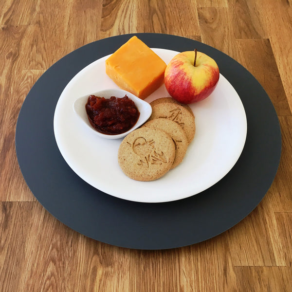 Graphite Grey Acrylic Lazy Susan