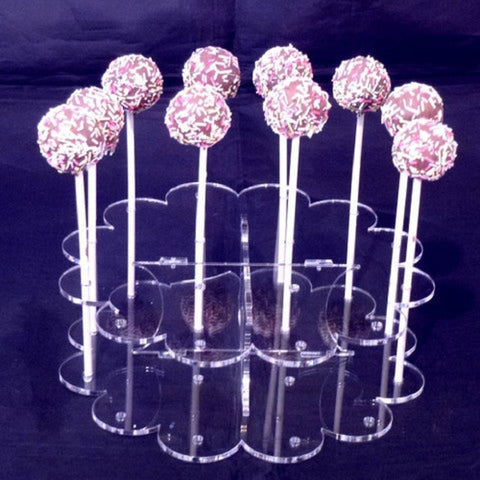 Fancy Round Cake Pop Stand