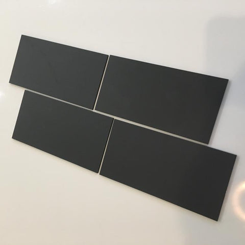 Rectangular Tiles - Graphite Grey