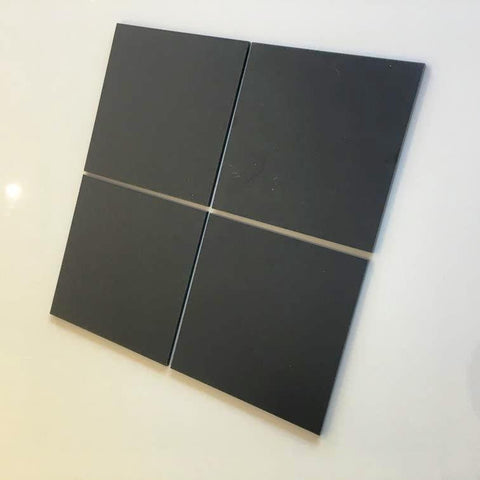 Square Tiles - Graphite Grey