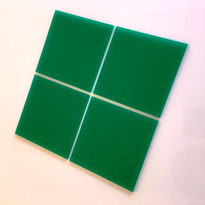 Square Tiles - Green