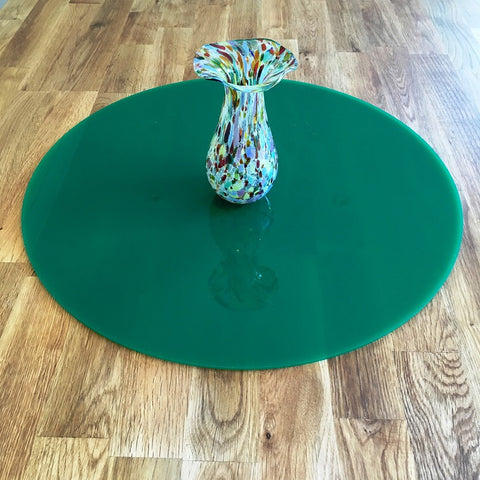 Round Worktop Saver - Dark Green