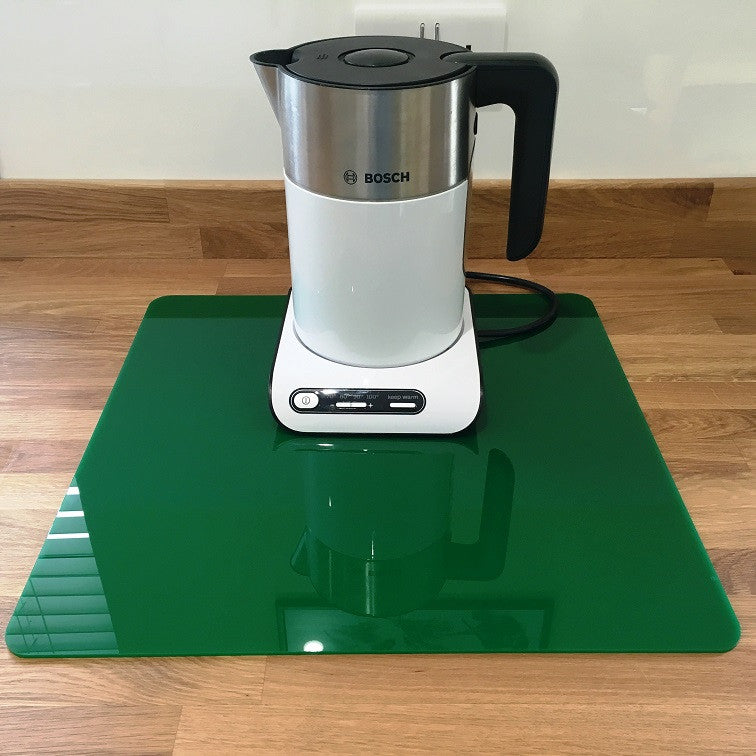 Square Worktop Saver - Dark Green
