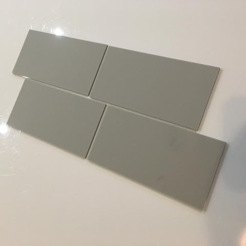 Rectangular Tiles - Light Grey