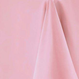 Light Pink Rectangular Tablecloth