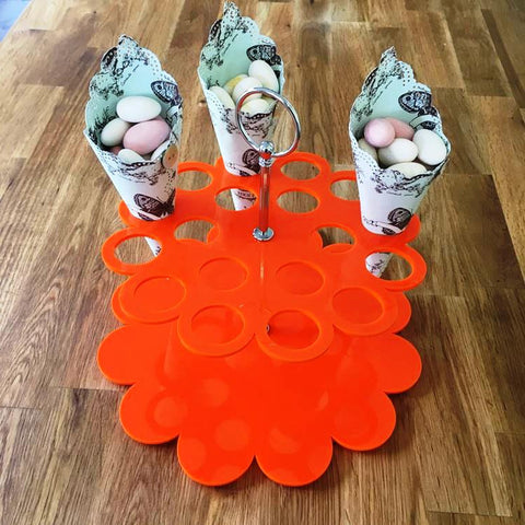 Wedding Favour Stand - Orange