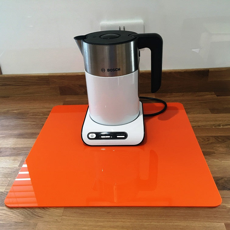 Square Worktop Saver - Orange