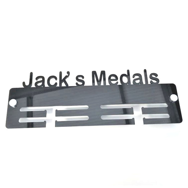 Personalised Name Medal Hanger