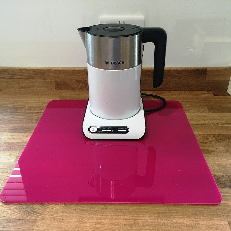 Square Worktop Saver - Pink
