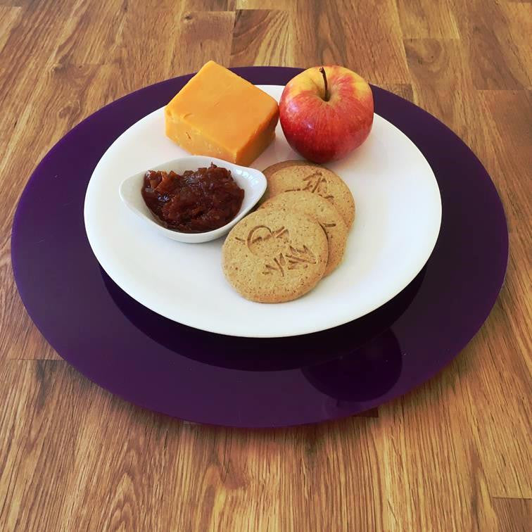 Purple Acrylic Lazy Susan