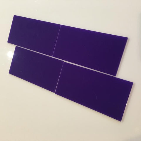 Rectangular Tiles - Purple