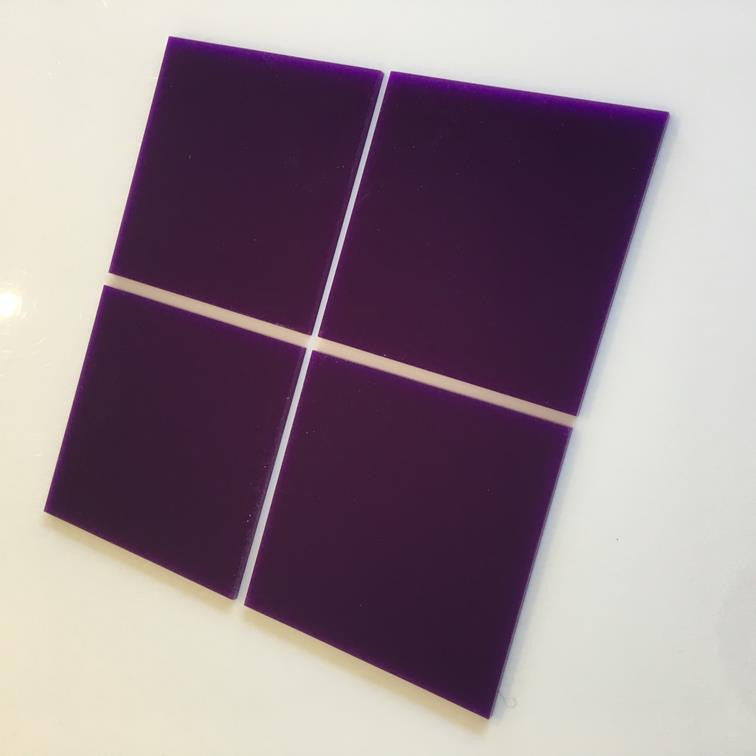 Square Tiles - Purple
