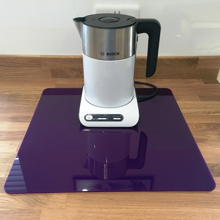 Square Worktop Saver - Purple