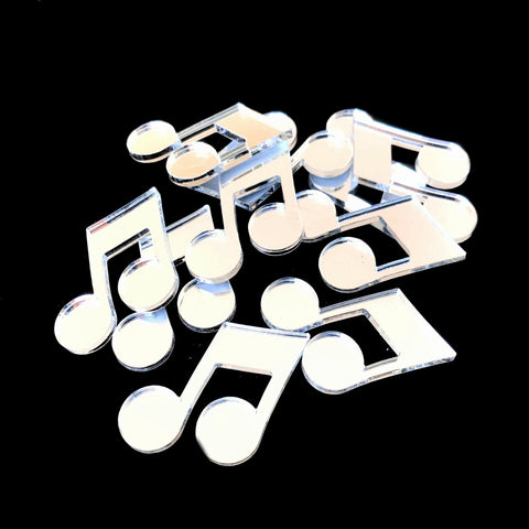 Quaver Musical Note Crafting Sets Solid Small