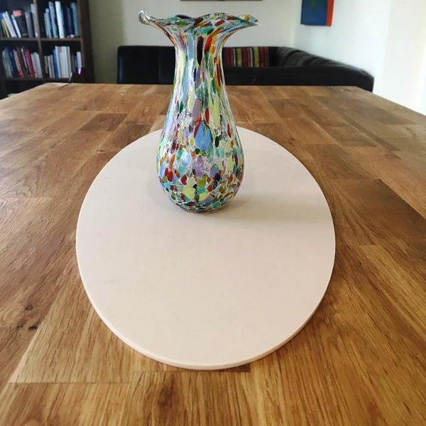 Latte Oval Acrylic Table Runner