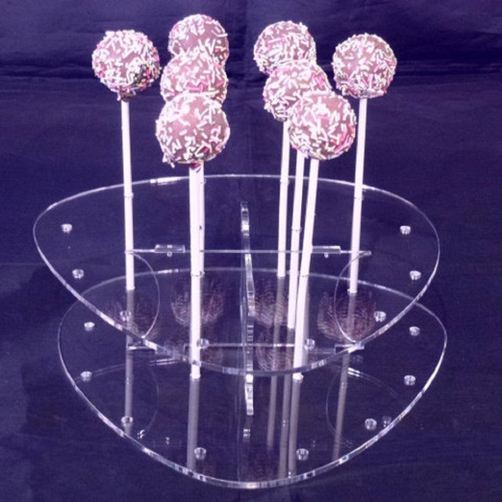 Pebble Cake Pop Stand