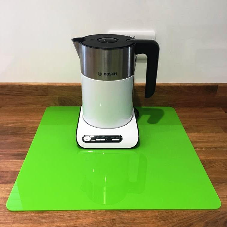 Square Worktop Saver - Lime Green