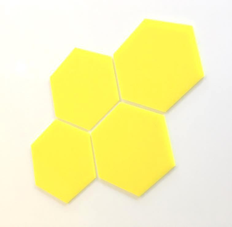 Hexagon Tiles - Yellow