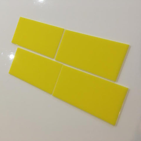 Rectangular Tiles - Yellow