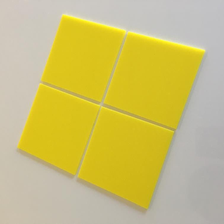 Square Tiles - Yellow