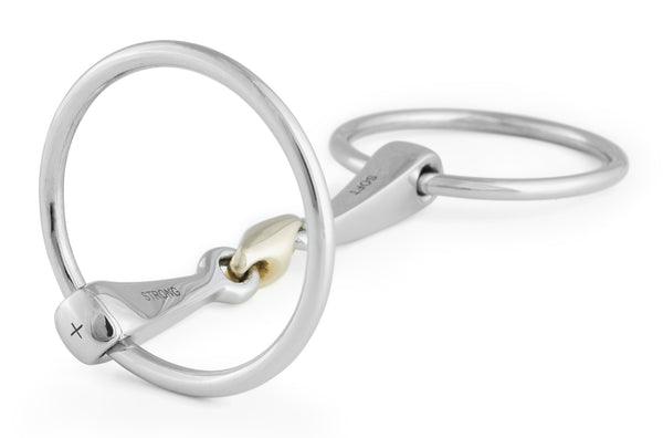 Stubben 2in1 Loose Ring Snaffle - The Bit Emporium