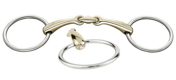 Sprenger Dynamic RS Loose Ring Snaffle 16mm - Shine Bright