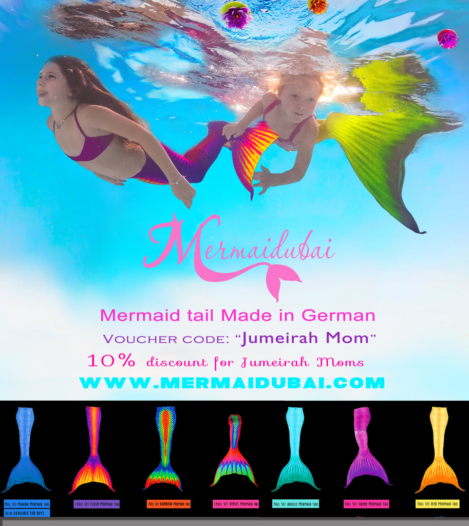 Mermaid tail discount in Jume