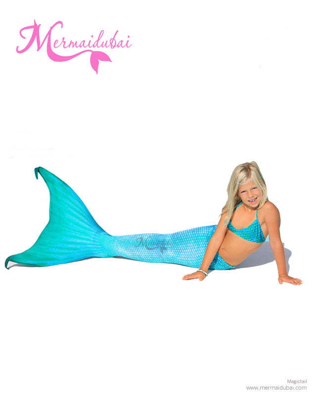Arielle Mermaid tail Full Set Size S