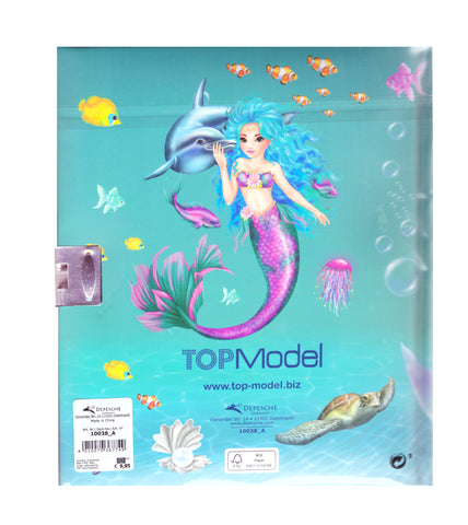 Mermaid Dairy NoteBook From Fantasy mermaid collection-TopModel
