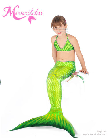 142-Full Set Mermaid Costume Neptuna Model Size S