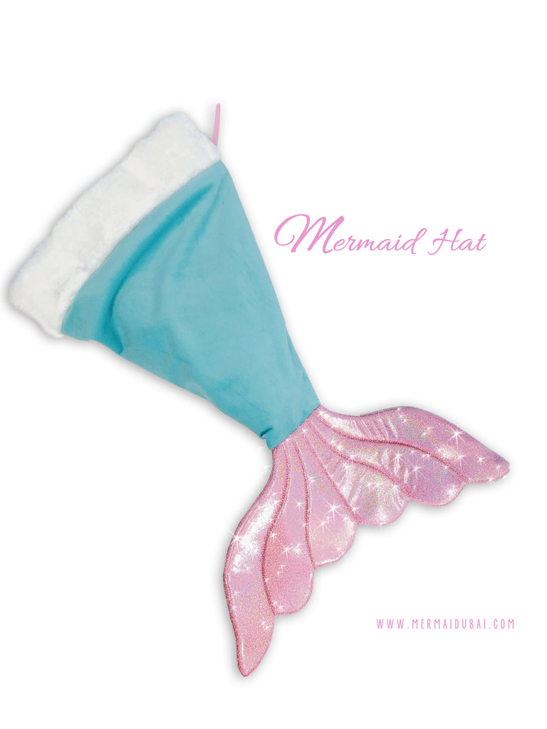 Mermaid tail Hat or Mermaid tail Stocking