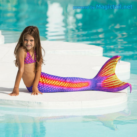 Flash Mermaid tail Size XS Full set