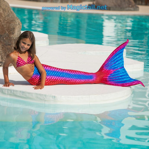 Ruby Mermaid tail Size S