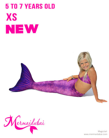 Mermaid tail Sirene Full Set Model Size XS