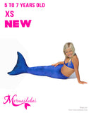 160 Mermaid tail Marina Full Set Size XS age 5 to 7 years old