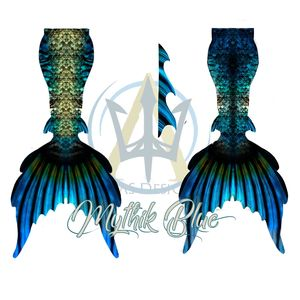 Mythic Blue Mermaid/Merman tail