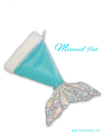 Santa Mermaid Hat or Christmas Stocking