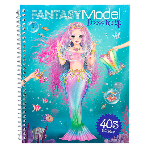 Fantasy TopModel Mermaid stickers Dress Me Up