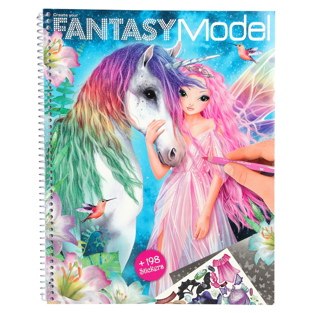 Fantasy TopModel sticker book Dress Up Me