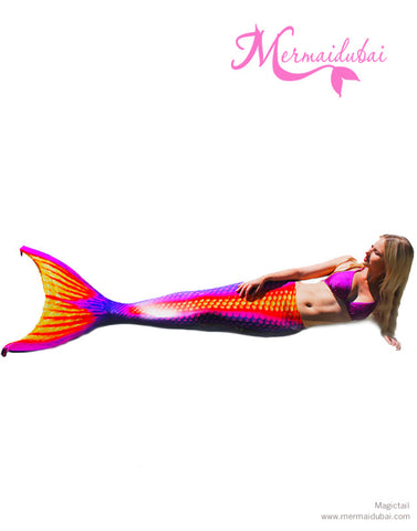 Flash Mermaid tail Full Set Size L