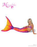 Flash Mermaid tail full set size S