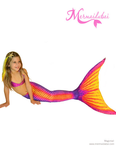 Flash Mermaid tail Full Set Size M