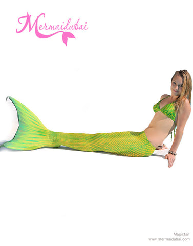 148-Neptuna Mermaid tail Full Set Size L