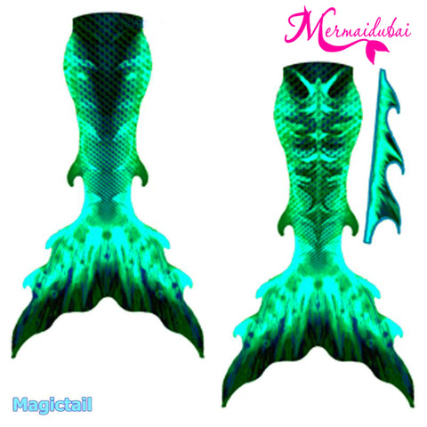 Mermaid Tail Deep Sea