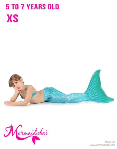 Arielle Mermaid tail Full Set Size XS