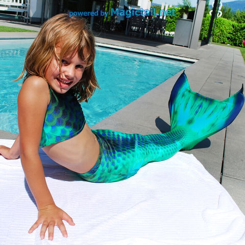Deep Sea Mermaid tail Full Set Size XS