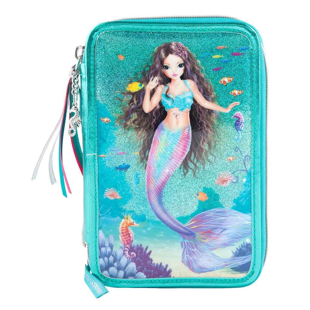 TOPModel pencil case Mermaid Fantasy Triple Filled