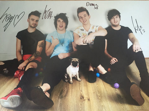 ROOM 94 Signed Band Poster 1