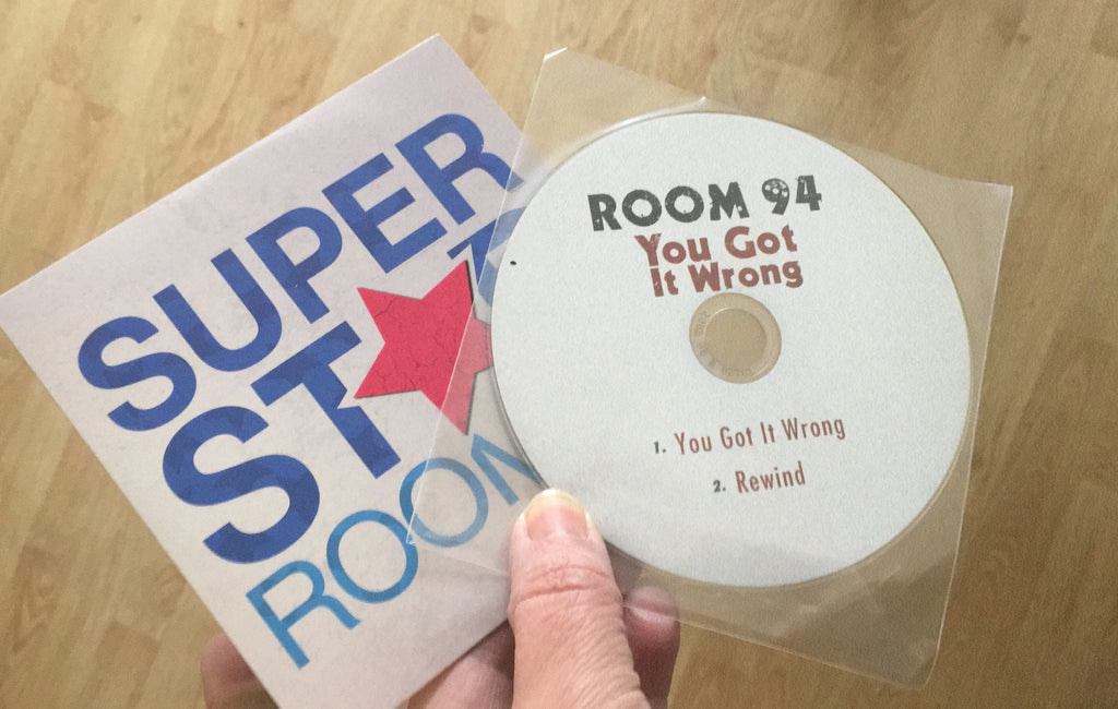 ROOM 94 You Got it Wrong & Superstar cd